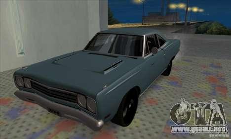 Plymouth Roadrunner para GTA San Andreas