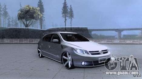 Volkswagen Golf G5 para GTA San Andreas vista hacia atrás