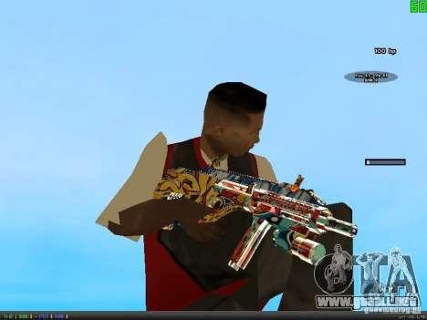 Graffiti Gun Pack para GTA San Andreas tercera pantalla