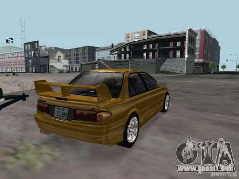 Mitsubishi Lancer Evolution III para la visión correcta GTA San Andreas