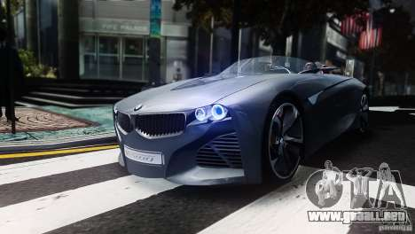 BMW Vision ConnectedDrive Concept 2011 para GTA 4