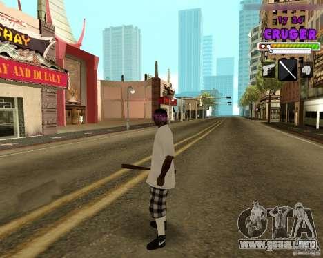 Ballas by R.Cruger para GTA San Andreas quinta pantalla