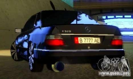 Mercedes-Benz CE 320 para la vista superior GTA San Andreas