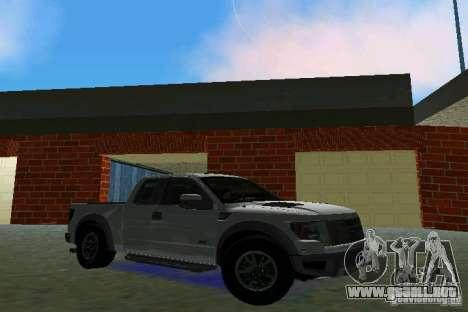 Ford F-150 SVT Raptor para GTA Vice City left