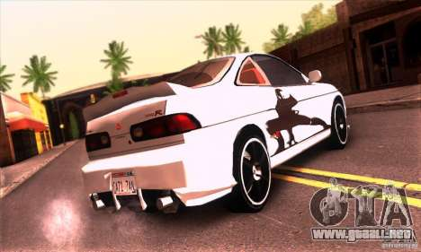 Honda Integra Tunable para vista inferior GTA San Andreas
