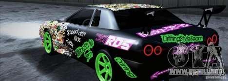 New Elegy DriftingStyleTeam para GTA San Andreas left
