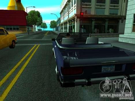 ENBSeries by gta19991999 para GTA San Andreas segunda pantalla