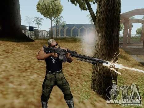 La ametralladora MG-42 para GTA San Andreas