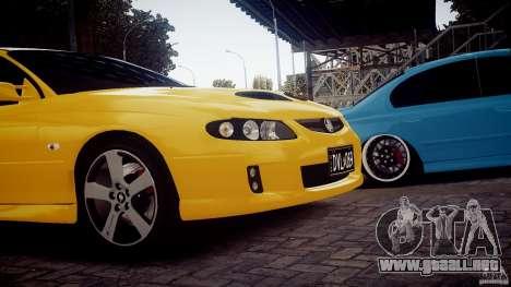Holden Monaro para GTA 4 Vista posterior izquierda