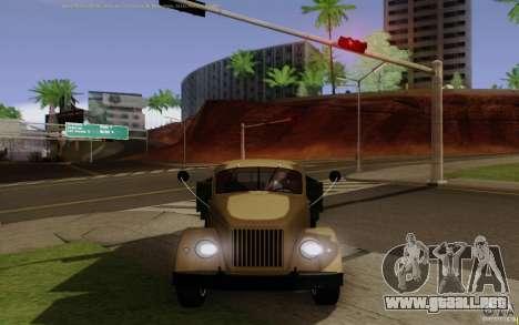 GAZ 51 para la visión correcta GTA San Andreas