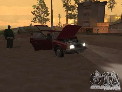 AZLK Moskvich 2141 para visión interna GTA San Andreas