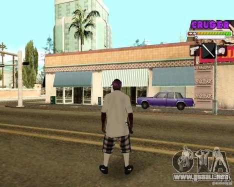 Ballas by R.Cruger para GTA San Andreas tercera pantalla