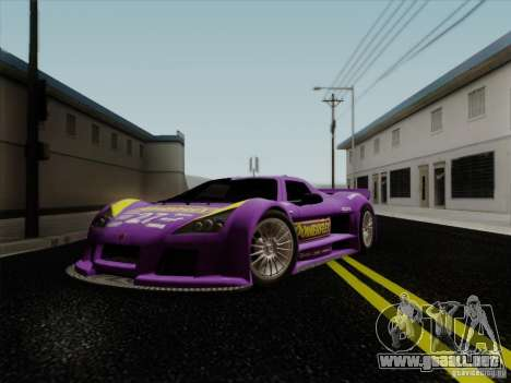 Gumpert Apollo 2005 para la vista superior GTA San Andreas