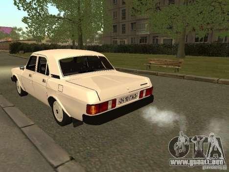 Volga GAZ 31013 para la visión correcta GTA San Andreas
