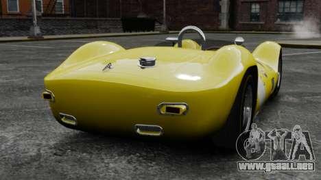 Maserati Tipo 60 Birdcage para GTA 4 Vista posterior izquierda