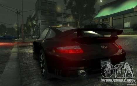 Porsche 911 GT2 2008 para GTA 4 visión correcta
