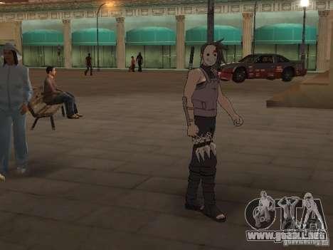Skin Pack From Naruto para GTA San Andreas segunda pantalla