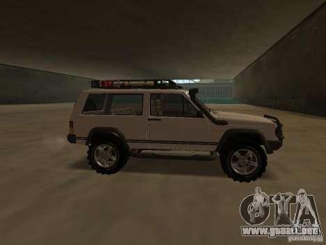 Jeep Cherokee Sport para GTA San Andreas left