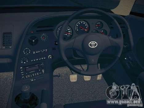 Toyota Supra VeilSide Fortune 2003 para visión interna GTA San Andreas