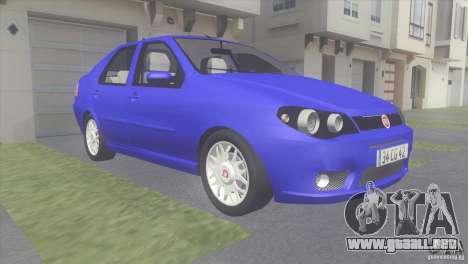 Fiat Albea Sole para GTA San Andreas