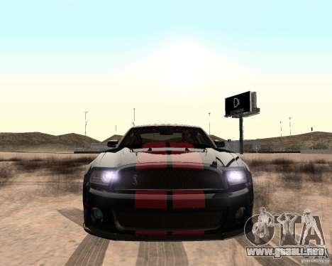 Star ENBSeries by Nikoo Bel para GTA San Andreas tercera pantalla