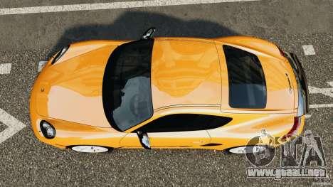 Porsche Cayman R 2012 [RIV] para GTA 4 visión correcta