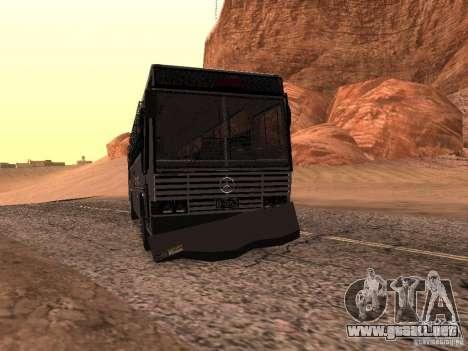 Mercedes Benz SWAT Bus para visión interna GTA San Andreas