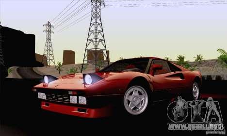 Ferrari 288 GTO 1984 para GTA San Andreas