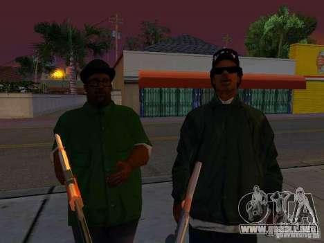 Grove Street Forever para GTA San Andreas quinta pantalla