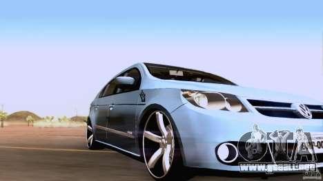 Volkswagen Golf G5 para GTA San Andreas left