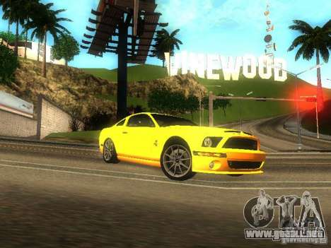 Ford Shelby GT 2008 para GTA San Andreas