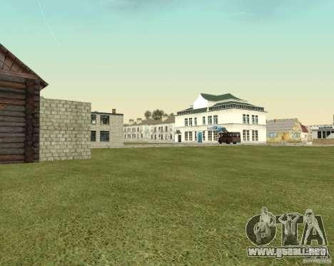 Nuevo campo del distrito de sueños para GTA San Andreas sucesivamente de pantalla