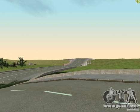 Terminada la construcción de la carretera a Rusi para GTA San Andreas
