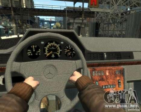 Mercedes-Benz C220 W202 para GTA 4 visión correcta