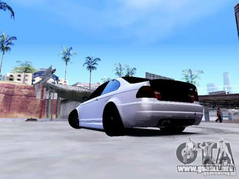 BMW 318i E46 Drift Style para GTA San Andreas left