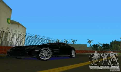 Mercedes-Benz SLR McLaren 722 Black Revel para GTA Vice City left