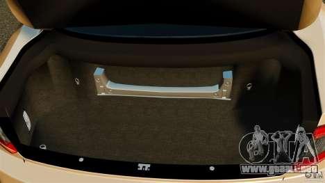 Maserati GT MC Stradale para GTA 4 vista superior