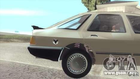 Ford Sierra para la visión correcta GTA San Andreas