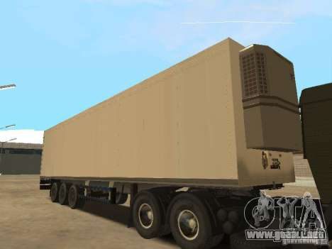 NEFAZ 93344 trailer para la visión correcta GTA San Andreas