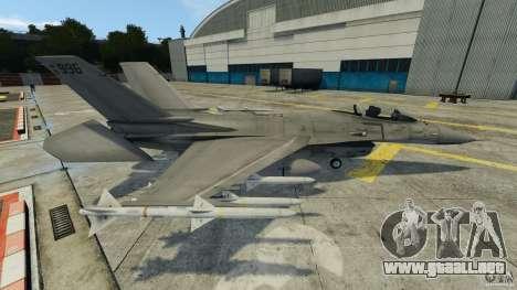 Fighterjet para GTA 4 left