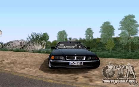 BMW 730i E38 para GTA San Andreas left
