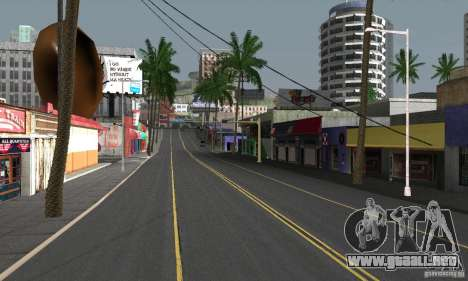 Real HQ Roads para GTA San Andreas octavo de pantalla
