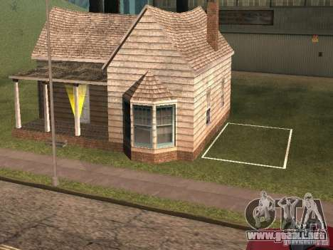 Parking Save Garages para GTA San Andreas quinta pantalla