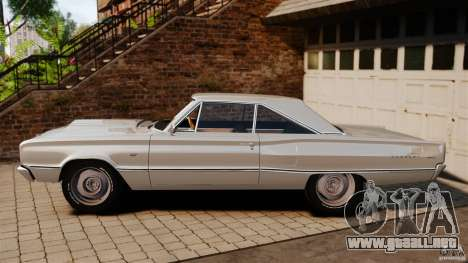 Dodge Coronet 1967 para GTA 4 left