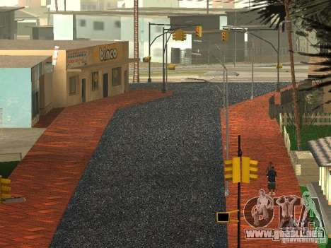 La nueva calle Grove para GTA San Andreas quinta pantalla