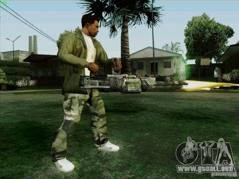Ametralladora de Duke Nukem Forever para GTA San Andreas sucesivamente de pantalla