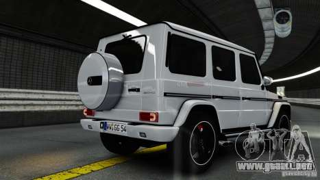 Mercedes-Benz G65 AMG (W463) 2012 v1.2 para GTA 4 left