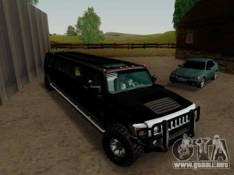 Hummer H3 Limousine para la visión correcta GTA San Andreas