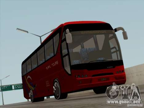 Neoplan Tourliner. Rural Tours 1502 para la vista superior GTA San Andreas