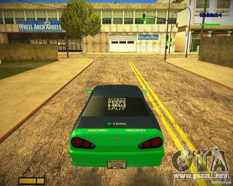 Pak vinilos para Elegy para las ruedas de GTA San Andreas